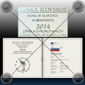 PROOF SET (10 kovancev) SLOVENIJA 2014