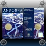 ANDORRA 2 EURO 2019 (Alpine Ski World Cup Finals) UNC