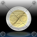 2 EVRO ANDORRA 2014 (Council of Europe) UNC