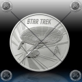 1oz TUVALU $1 (STAR TREK) 2016 BU