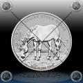 1oz AUSTRALIJA $1  (STOCK HORSE) 2016 BU