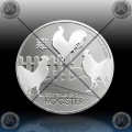 """1oz NIUE - LUNAR  """"Year of the Rooster"""" 2 Dollars 2017"""