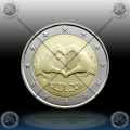 "2 EVRO MALTA 2016 ""LOVE"" Mint Mark / CoinCard"