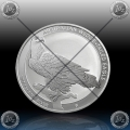 1oz AUSTRALIJA $1 (Wedge Tailed Eagle) 2017 BU