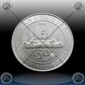 "1oz KANADA $5 ""150 Years Voyageur"" 2017"