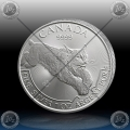 1oz KANADA 5 Dollars 2017 (PREDATOR SERIES - RIS) UNC