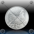 "1oz V. BRITANIJA 2 Pounds 2017 ""Year of the Rooster"" UNC"