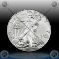 "1oz ZDA $1 ""Silver Eagle"" 2017"