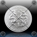 "1oz NIUE 2 Dollars 2018 ""DOUBLE DRAGON"" UNC"