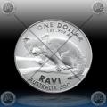 """1oz AUSTRALIJA $1 """"AUSTRALIAN ZOO"""" 2018 (RED PANDA - RAVI) BU"""