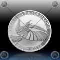 1oz AUSTRALIJA 1 Dollar 2018 (Birds of Paradise - Victoria's riflebird) BU
