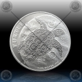 "1oz NIUE ""TURTLE"" 2 Dollars 2018"