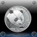 """1oz (30g) KITAJSKA """"Panda"""" 10 Yuan 2018 BU"""