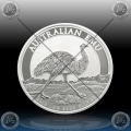 "1oz ""The Perth Mint"" 1 Dollar 2018 (Australian EMU) BU"