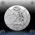 1oz RUANDA 2018 (Nautical Ounce - HMS Endeavour) BU