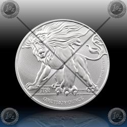"1oz NIUE 2 Dollars 2019 ""LION of JUDAH"" UNC"