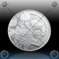"1oz NIUE 2 Dollars 2019 ""STAR WARS - The Clone Trooper "" UNC"