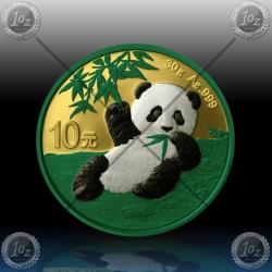 "1oz (30g) KITAJSKA ""Panda"" 10 Yuan 2020 * Space & Precious Metals"