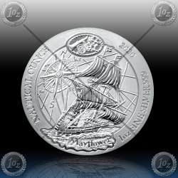 1oz RUANDA 2020 (Nautical Ounce - MAYFLOWER) BU