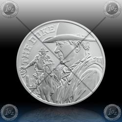 1oz TUVALU $1 Dollar 2020 (JOHN WAYNE the DUKE) BU