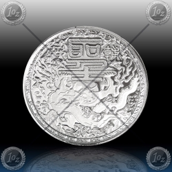 "1oz CAMEROUN 500 Francs 2018 ""Imperial Dragon"" Prooflike"