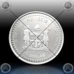 1oz FIJI $1 Dollar 2018 (PACIFIC DOLLAR) UNC