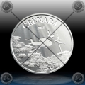 1oz GRENADA 2 Dollars 2018 (Diving Paradise) BU