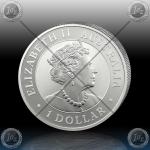 1oz $1 Dollar 2019 (KOOKABURRA) BU