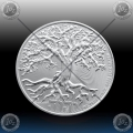 "1oz NIUE 2 Dollars 2019 ""TREE OF LIFE"" UNC"