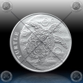 "1oz NIUE ""TURTLE"" 2 Dollars 2020"