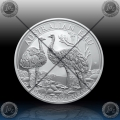 "1oz ""The Perth Mint"" 1 Dollar 2019 (Australian EMU) BU"