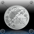 1oz AVSTRALIJA (RAM) 1 Dollar 2020 (LUNAR - Year of the Rat) BU