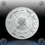 1oz AVSTRALIJA (RAM) 1 Dollar 2020 (LUNAR - Year of the Rat) BU
