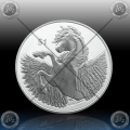 "1oz BRITISH VIRGIN ISLANDS 1 Dollar 2020 ""PEGASUS"" BU"