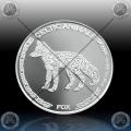 "1oz CHAD 500 FRANCS CFA 2019 ""Celtic Animals - FOX"" UNC"