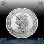1oz AUSTRALIJA $1 (AUSTRALIEN NUGGET) 2019 *BU