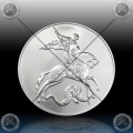 "1oz RUSIJA 3 Rubles 2018 ""ST. GEORGE"" UNC"