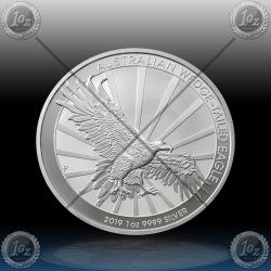 1oz AUSTRALIJA $1 (Wedge Tailed Eagle) 2019 *BU