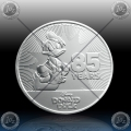 1oz NIUE 2 DOLLARS 2019 (DISNEY - 85 Years Donald Duck) UNC
