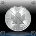 1oz KANADA $5 (Maple Leaf) 2020 *UNC