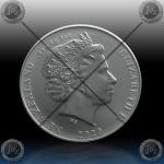 1oz NOVA ZELANDIJA 1 Dollar 2020 (Kiwi - Black Nickel) BU