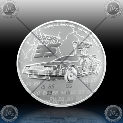 "1oz NIUE 2 Dollars 2020 ""BACK TO THE FUTURE"" UNC"