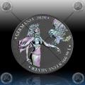 1oz GERMANIA 5 Mark 2020 (TWO-HEADED EAGLE) HOLOGRAM * BU