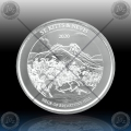 1oz ST. KITTS & NEVIS (ECCB) Two Dollars 2020 (Brimstone Hill) BU
