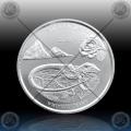 1oz St. LUCIA (ECCB) Two Dollars 2020 (Whiptail Lizard) BU