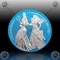 "1oz GERMANIA ""SPACE BLUE"" 5 Mark 2019 (The Allegories - Britannia & Germania) BU"