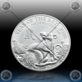 "1oz V. BRITANIJA 2 Pounds 2020 ""Year of the Rat"" UNC"