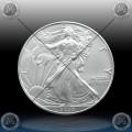 """1oz ZDA $1 Dollar 2020 """"AMERICAN Silver Eagle"""" UNC"""