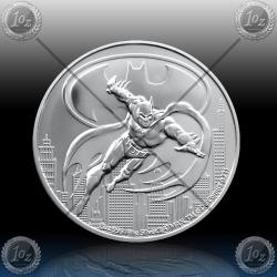 1oz NIUE $2 Dollars 2021 ( BATMAN™ ) UNC