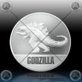 1oz Niue $2 Dollras 2021 - GODZILLA (Godzilla vs. Kong) BU